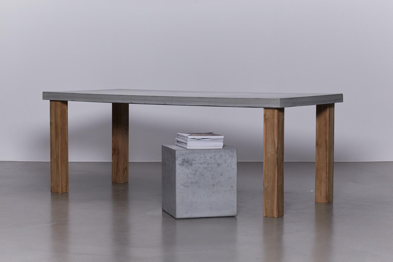 Beton Tafel Buiten : Betonnen tafel buiten: beton cire tafels laren dodo stukadoors.