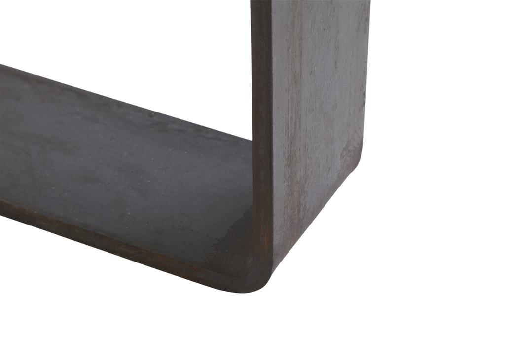 Beton Tafel Buiten : Betonlook tafel u2013 onderstel blauwstaal u2013 de betonfabriek