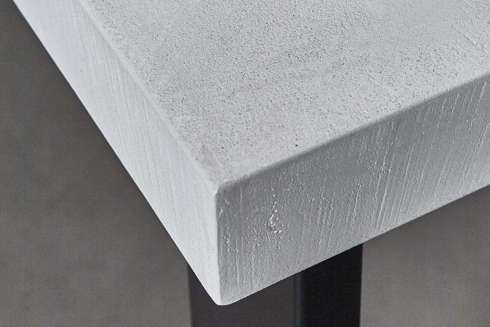 Home / Tafels / Tafels / Betonlook Tafel u2013 Onderstel Staal Zwart